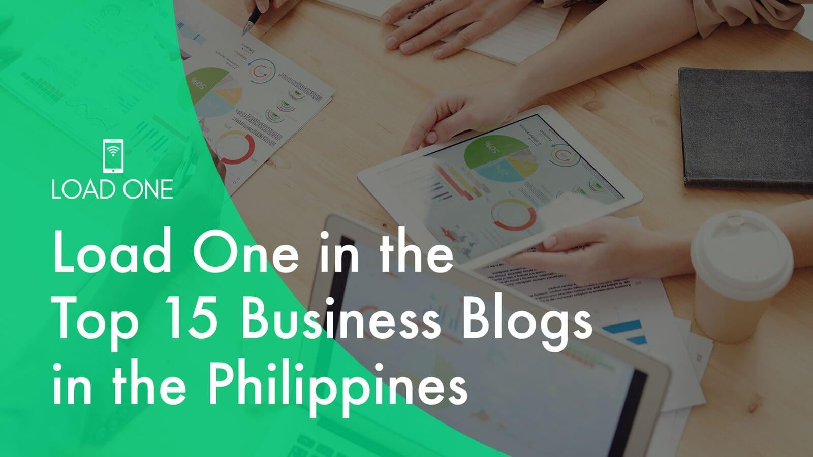 Load One in the Top 15 Business Blogs in the Philippines